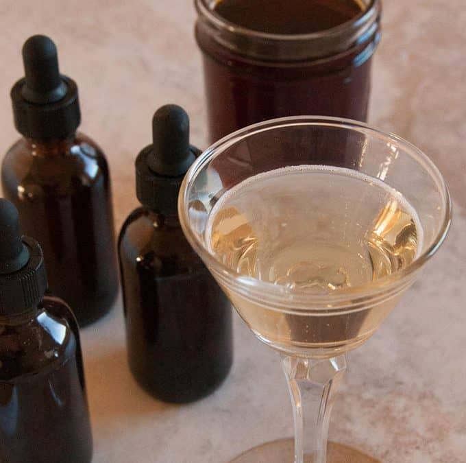Foraged Bitters Recipe