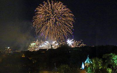 Fireworks, Pesto and Harvesting Garlic