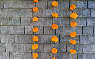 Flower Garlands, Fall Fix-ups, and Quince