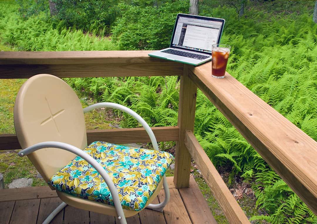 Your Outdoor Office, Peaches, And Arugula VS Garlic Mustard | Plantrama.com