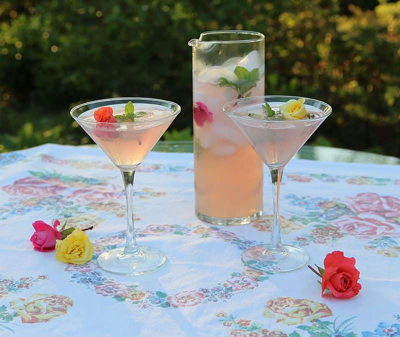 Cocktails With Flower Power